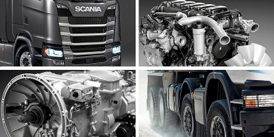 Scania 9-litre ethanol engine 280 hp Euro 6.